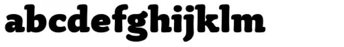 Tyke Black OS Font LOWERCASE