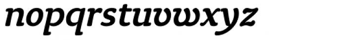 Tyke Medium Italic OS Font LOWERCASE