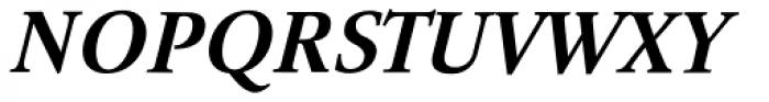Tyma Garamont SemiBold Italic Font UPPERCASE