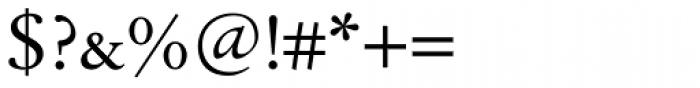 Tyma Garamont SmallCaps Font OTHER CHARS
