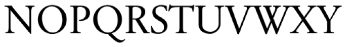 Tyma Garamont SmallCaps Font UPPERCASE