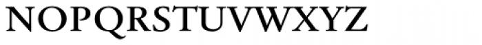 Tyma Garamont SmallCaps Font LOWERCASE