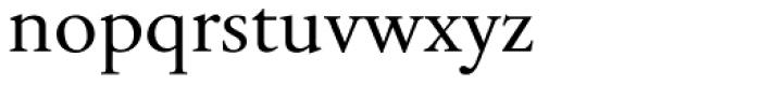 Tyma Garamont Font LOWERCASE