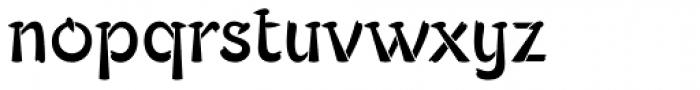 Typados Std Font LOWERCASE
