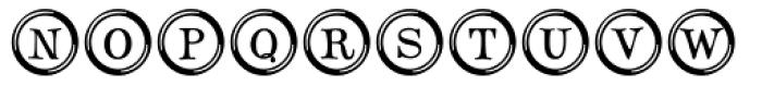 Type Keys Font UPPERCASE