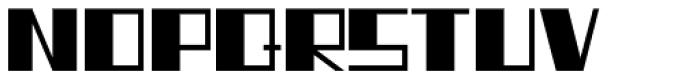 Type Uncommon JNL Font UPPERCASE