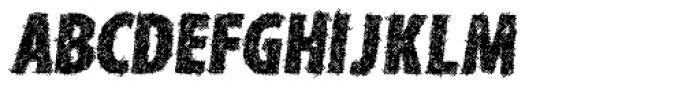 Type Xero Italic Font UPPERCASE