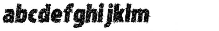Type Xero Italic Font LOWERCASE