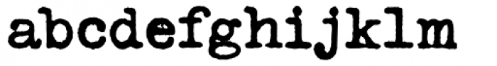 Typeka Bold Font LOWERCASE