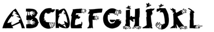 Typentypo Font UPPERCASE