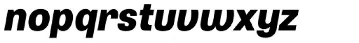 Typewalk 1915 Extra Bold Italic Font LOWERCASE