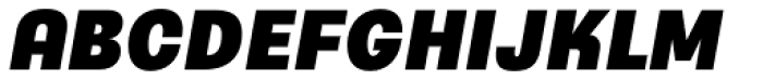 Typewalk 1915 Heavy Italic Font UPPERCASE