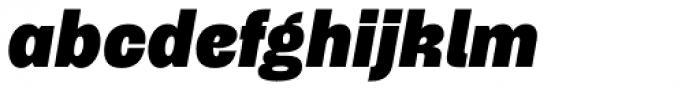 Typewalk 1915 Heavy Italic Font LOWERCASE