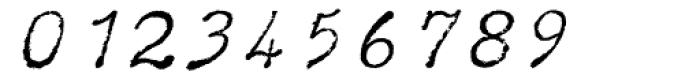 Typewriter BasiX Italic Font OTHER CHARS