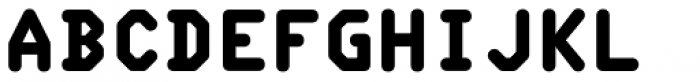 Typex Font LOWERCASE
