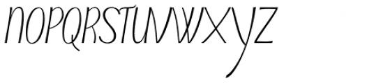 Typha Latifolia Medium Font UPPERCASE