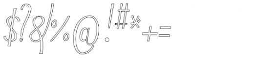 Typha Var01 Font OTHER CHARS