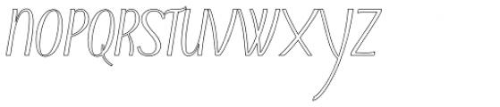 Typha Var01 Font UPPERCASE