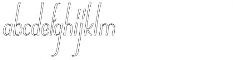 Typha Var01 Font LOWERCASE