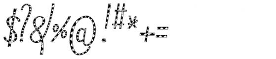 Typha Var06 Font OTHER CHARS