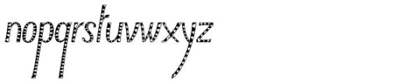 Typha Var06 Font LOWERCASE