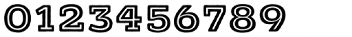 Typnic Headline Slab Inline Font OTHER CHARS