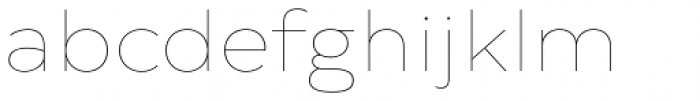 Typold Extended Extra Thin Font LOWERCASE