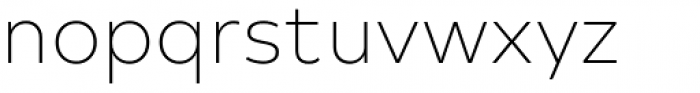 Typold Thin Font LOWERCASE