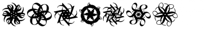 Typoschnee EF Regular Font UPPERCASE