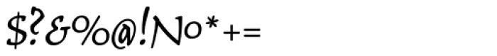 Typoskript Pro Font OTHER CHARS
