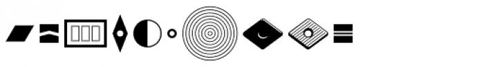 Typostuff EF Alpha Font OTHER CHARS