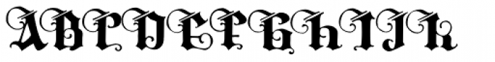 Tyrfing Font UPPERCASE