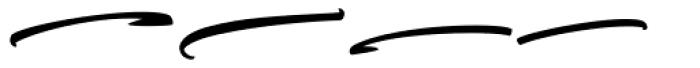 Tyrium Splatters Font LOWERCASE