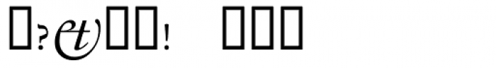 Tyrnavia Xperts Font OTHER CHARS