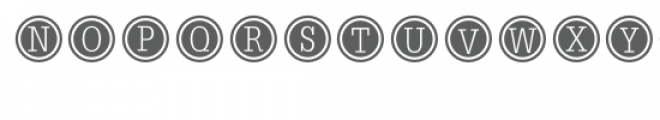 typewriter keys font Font UPPERCASE