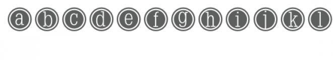 typewriter keys font Font LOWERCASE