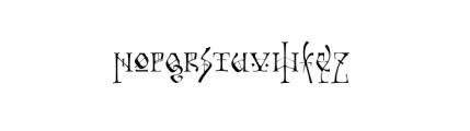 Tyrant (plain) Font UPPERCASE