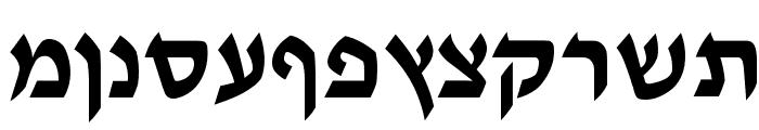 Tzipporah Font LOWERCASE