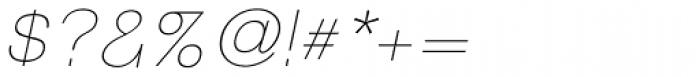 Tzaristane B Light Oblique Font OTHER CHARS