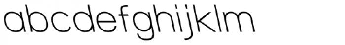 Tzaristane B Normal Left Font LOWERCASE