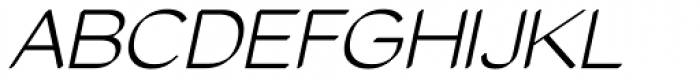 Tzaristane Cal Oblique Font UPPERCASE