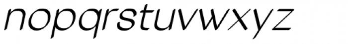 Tzaristane Cal Oblique Font LOWERCASE