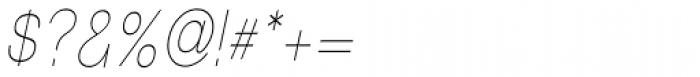 Tzaristane Light Cond Oblique Font OTHER CHARS