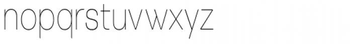 Tzaristane Light Cond Font LOWERCASE