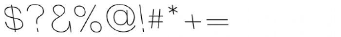 Tzaristane Light Left Font OTHER CHARS