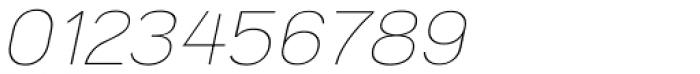 Tzaristane Light Oblique Font OTHER CHARS