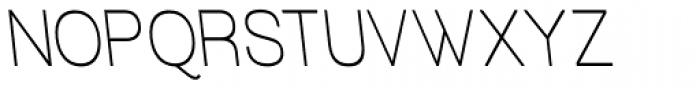 Tzaristane Normal Left Cond Font UPPERCASE