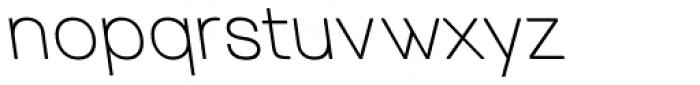 Tzaristane Normal Left Font LOWERCASE