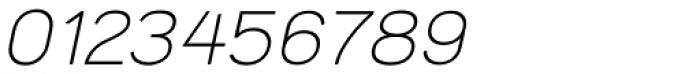 Tzaristane Normal Oblique Font OTHER CHARS
