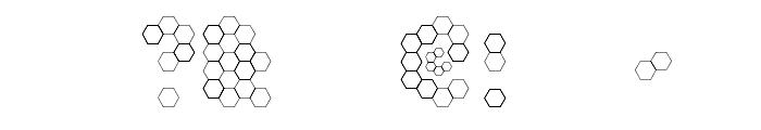 U Honeycombed Font OTHER CHARS